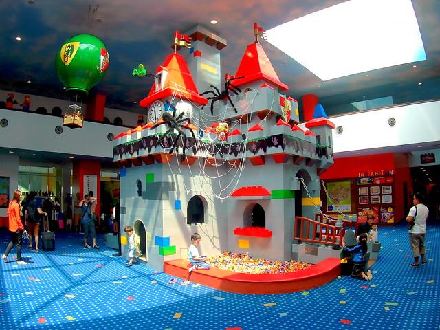 Legoland Hotel Lobby Halloween