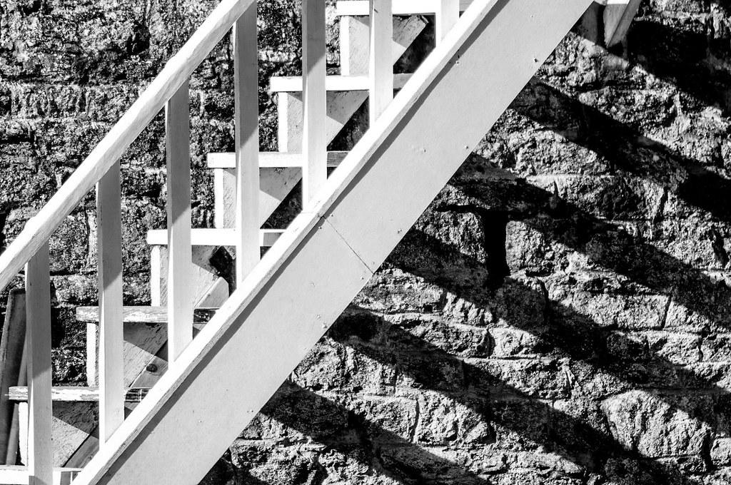 Escaliers, Saint-Briac, France 2015 | Julien Fourniol | Flickr