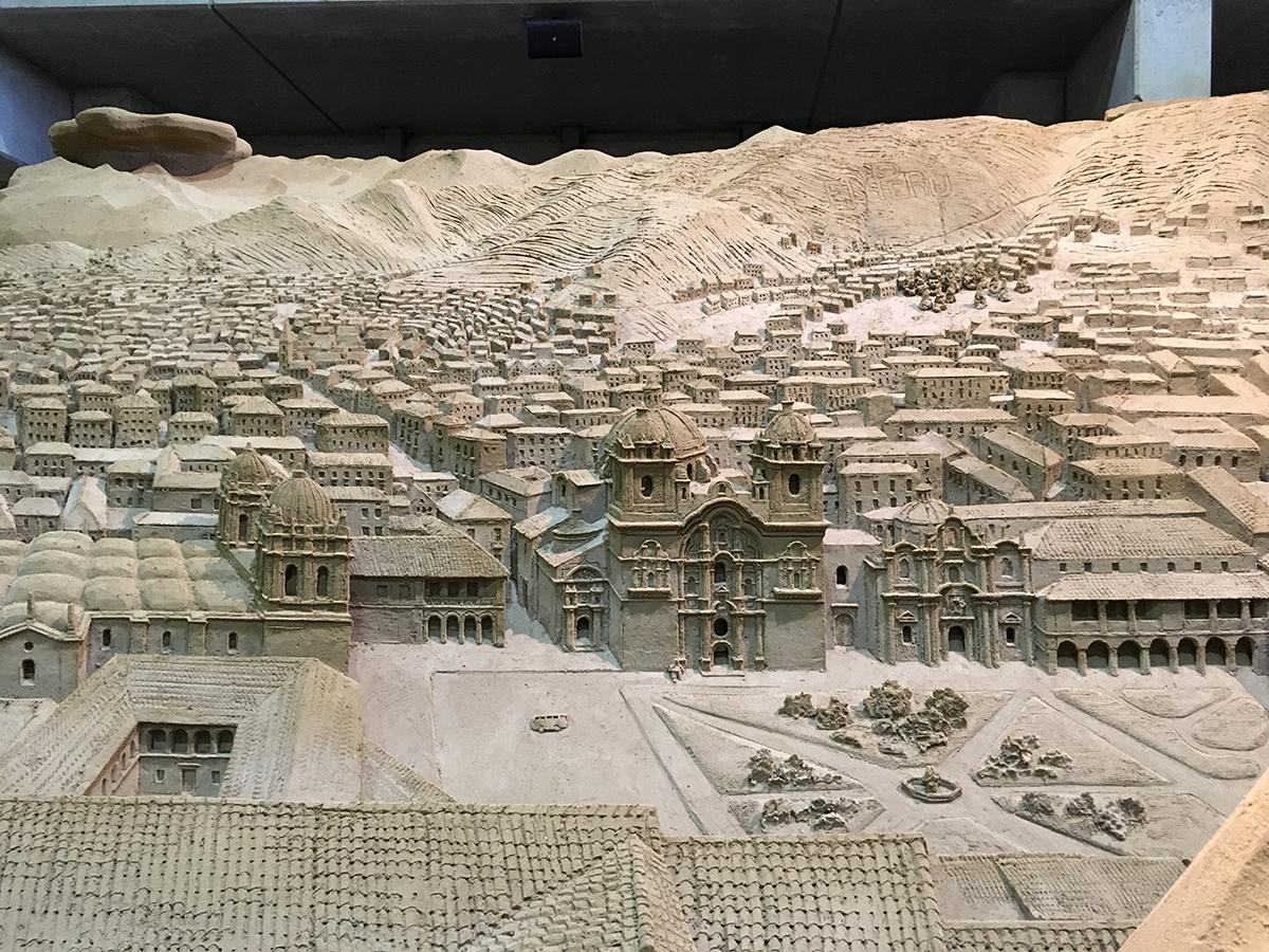 砂の町並み