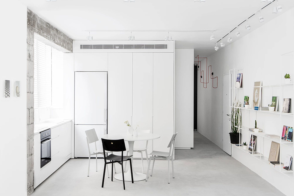 SIG black and white apartment by Yael Perry Sundeno_05