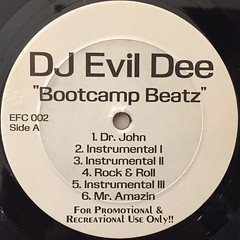 DJ EVIL DEE:BOOTCAMP BEATZ(LABEL SIDE-A)