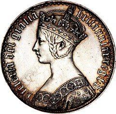 1847 Victoria Gothic Crown