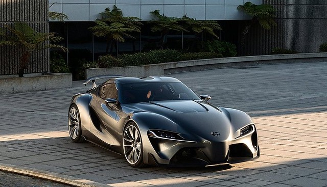 Toyota FT-1 Graphite Concept 2014 2