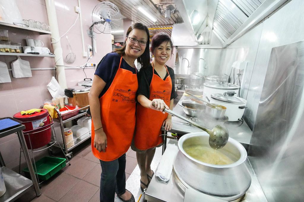 原Katong辣味米粉汤的厨房