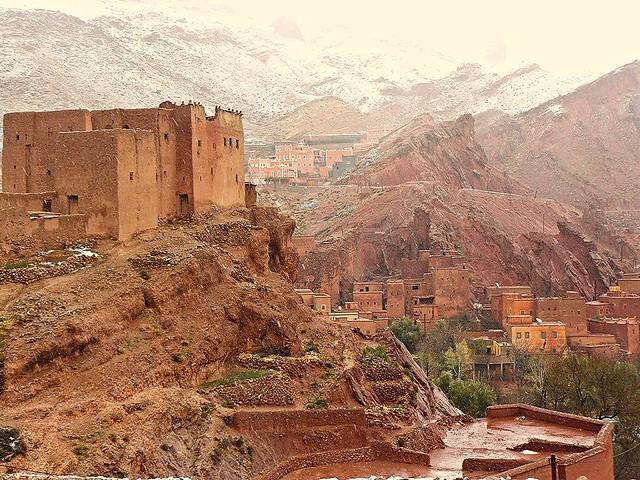 Valle del Dadès (Marruecos)