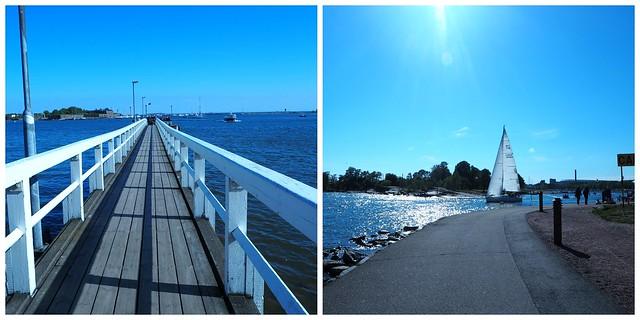 kesämerikaivarihkipic1, silta, bridge, meri ,sea, summer, kesä, helsinki, visit helsinki, valkoinen, kaunis, silta, purjeveneet, vene, veneitä, boat,