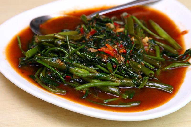 Kangkung-Thai-Style
