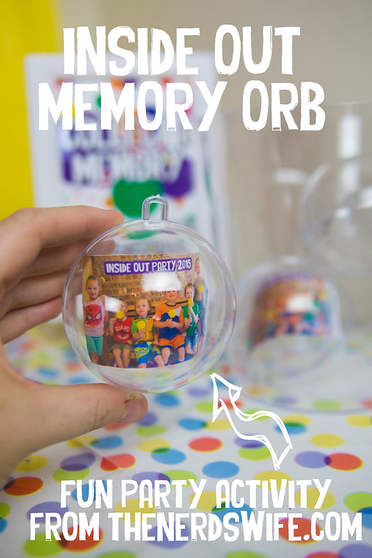 Inside Out Memory Orb