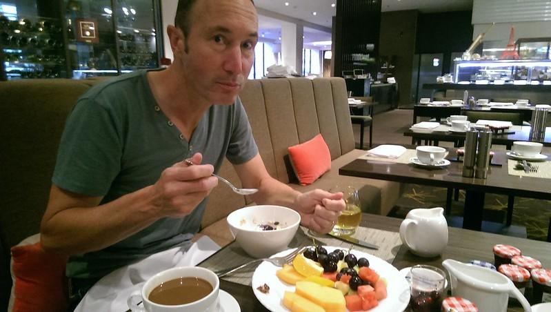 Breakfast at Sofitel Brisbane