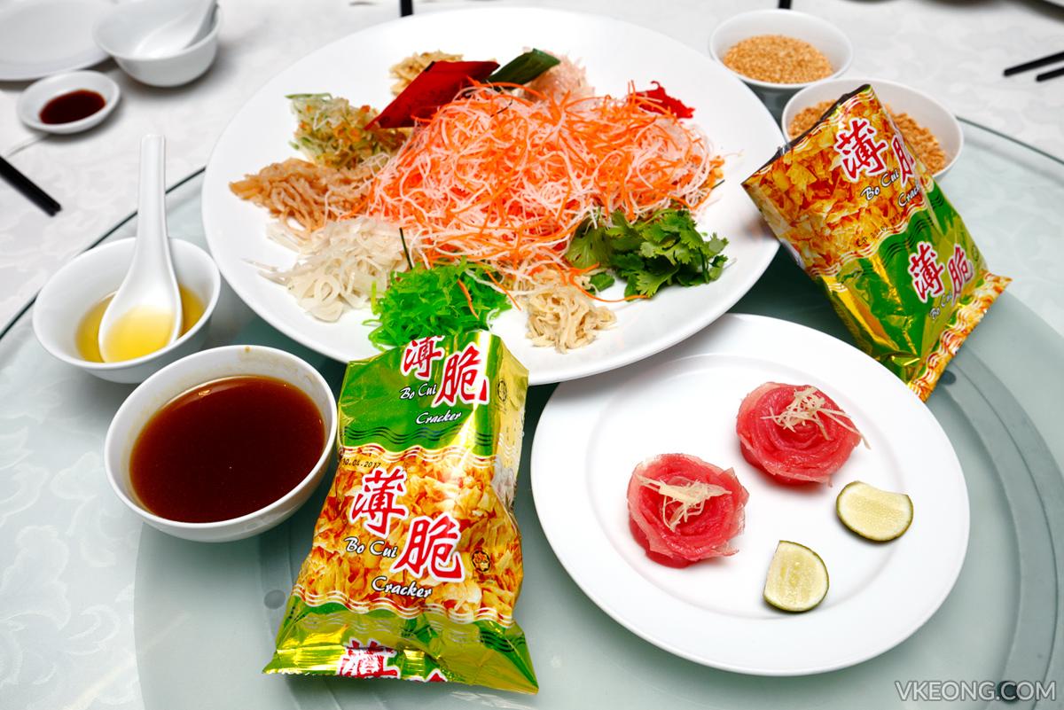 Prosperous Japanese Tuna Yee Sang