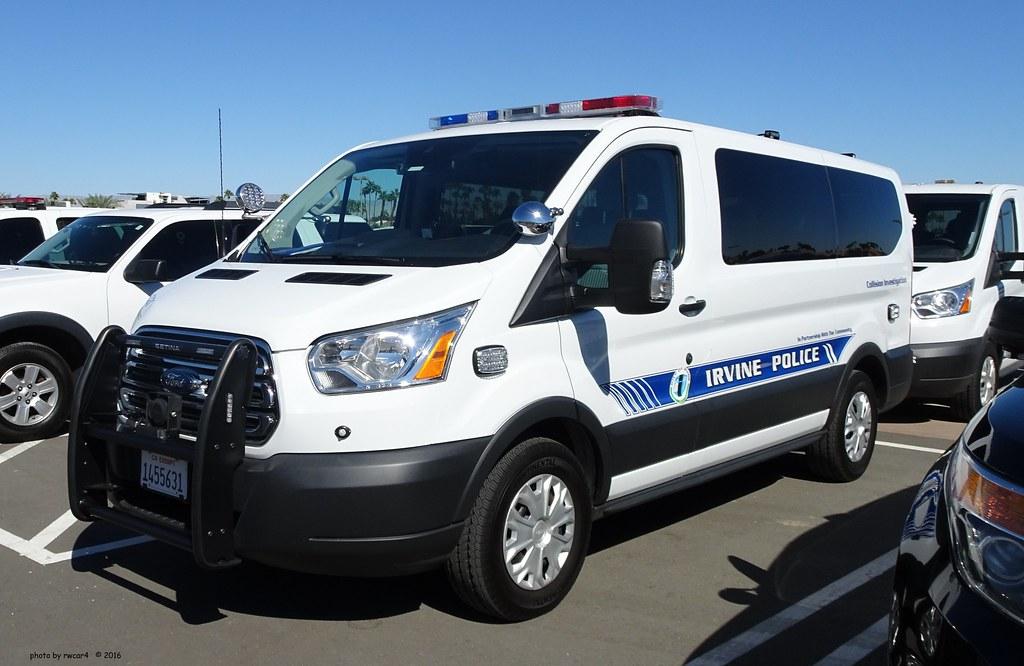 irvine ca police ford transit collision investigation flickr. Black Bedroom Furniture Sets. Home Design Ideas