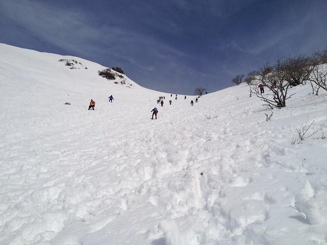 伊吹山 表登山道