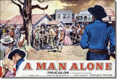 A Man Alone - Poster 2