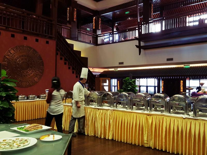 Maya Island Hotel Beijing buffet breakfast