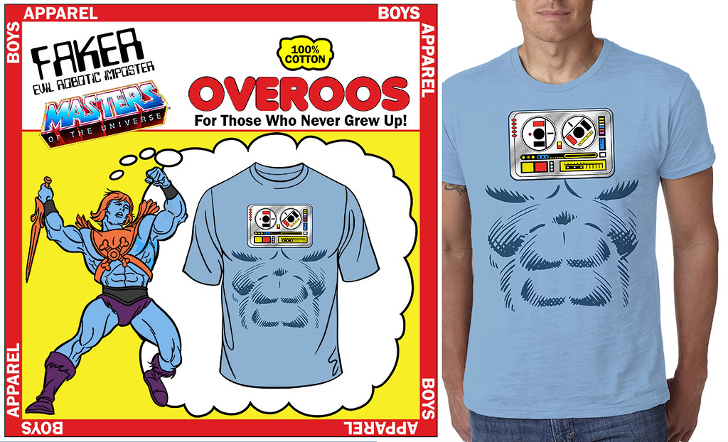 Minion Factory Masters of the Universe Faker Overoos