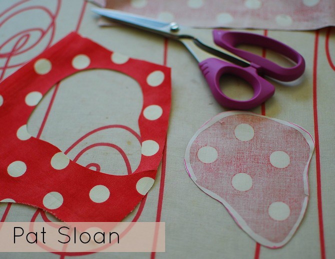 Pat Sloan Fusible Applique tutorial 9