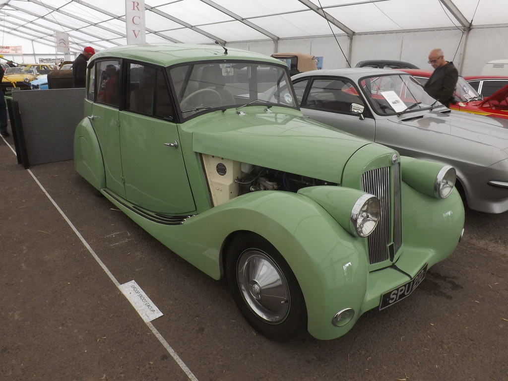 triumph 2000 renown saloon c 1949 50 customised