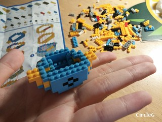 CIRCLEG MINIONS LOZ LEGO 微鑽積木 細過粒米阿 (5)
