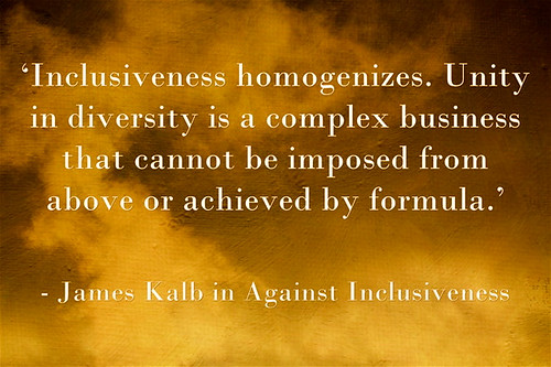 Against-Inclusiveness