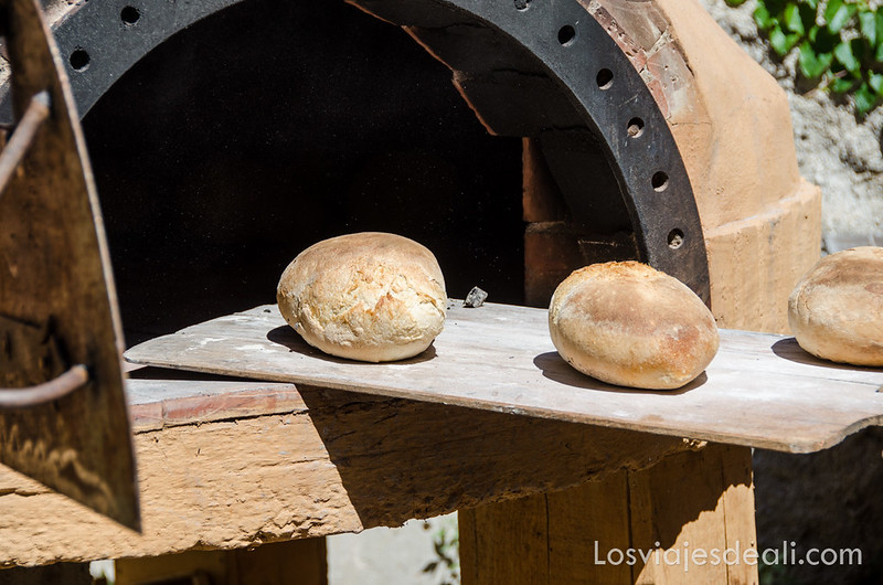 pueblos del macizo del Canigó horno de pan