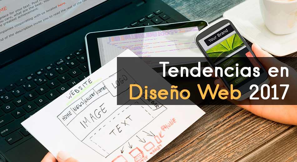 Principales Tendencias en Diseño Web 2017