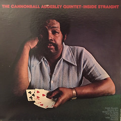 THE CANNONBALL ADDERLEY QUINTET:INSIDE STRAIGHT(JACKET B)