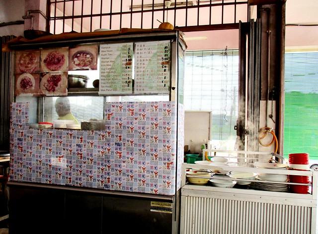 Wan Sen Corner kampua mee stall