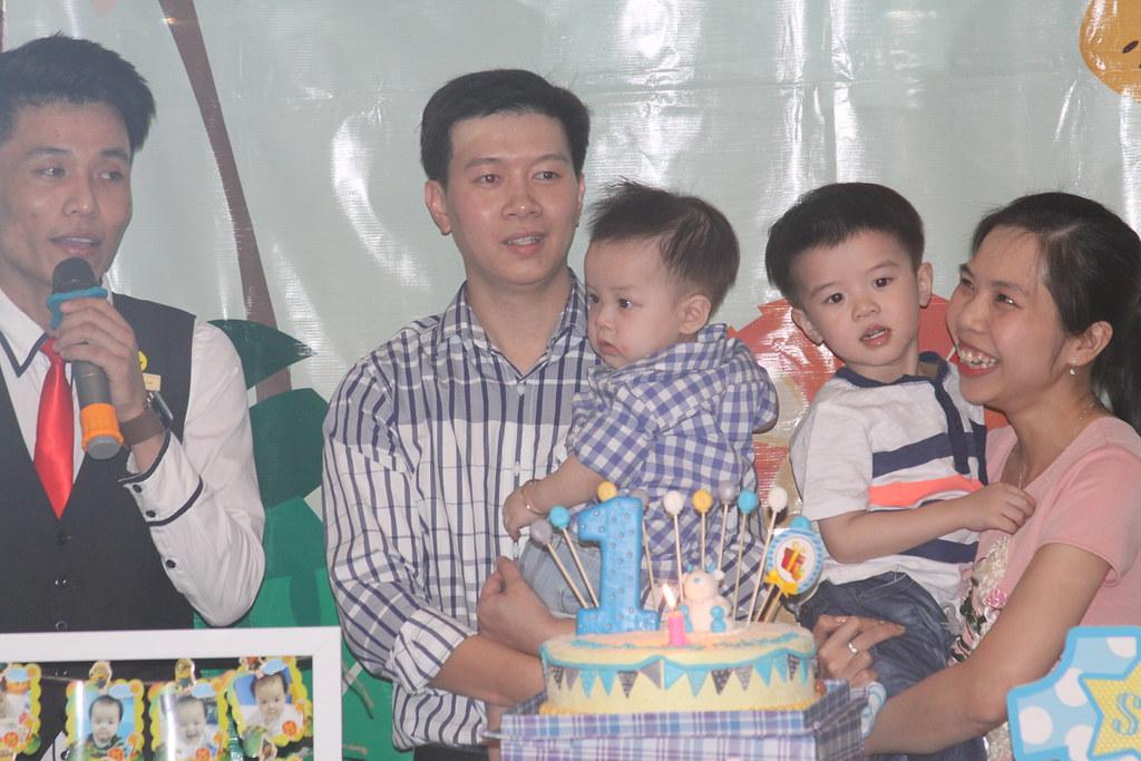 Mừng sinh nhật bé Minh Khang