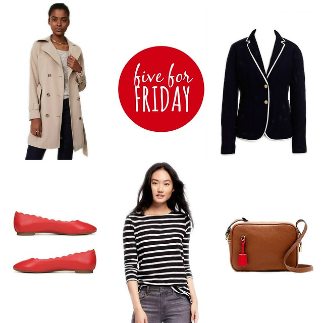 five for friday calling all classics | Style On Target blog