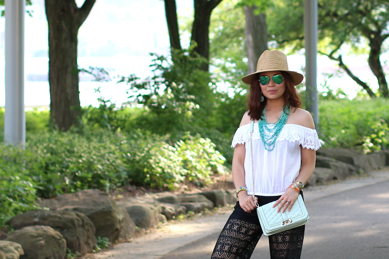 Summer-outfit-black-white-teal-4