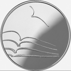 2015 Lithuania 5 Euro coin on Literature reverse