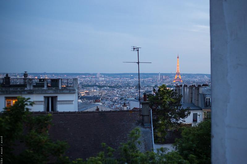 Eiffel Tower, Rue Saint-Eleuthere