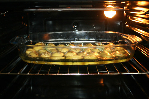 51 - Kartoffeln im Ofen backen / Bake potatoes in oven