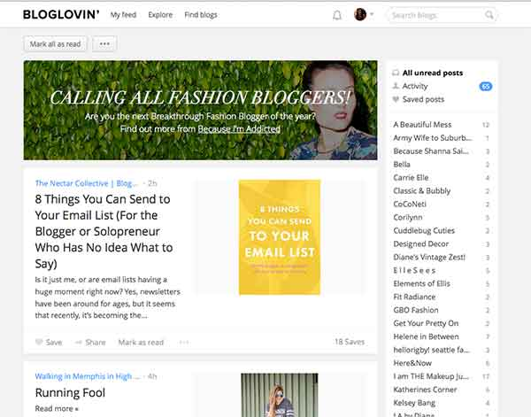Bloglovin' - What the heck is it? by Lewis Lane