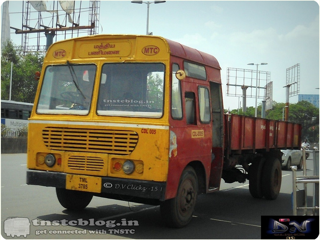 TML 3785 Service Vehicle of  Central Depot