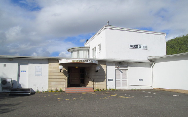 Cardross Golf Club, Clubhouse Entrance