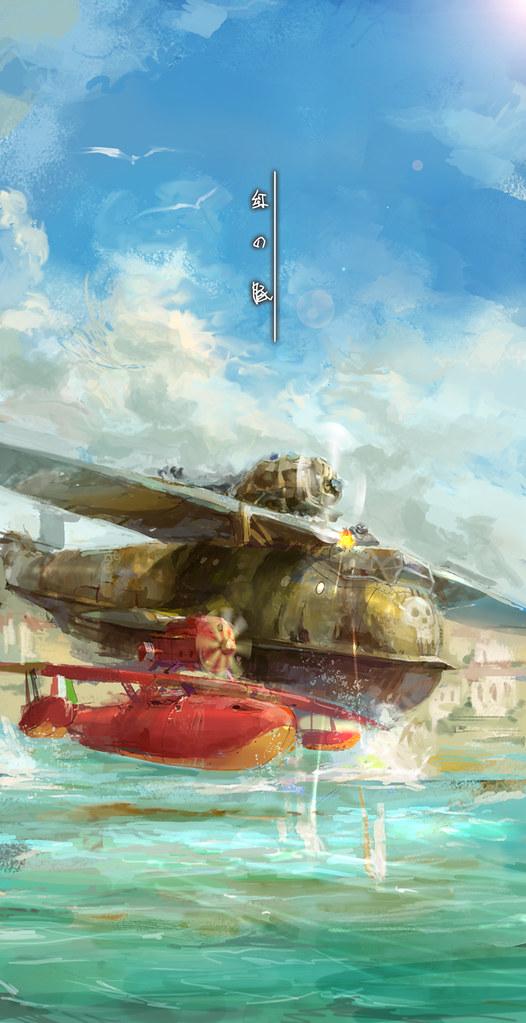 Studio Ghibli by lixiaoyaoii - Porco Rosso