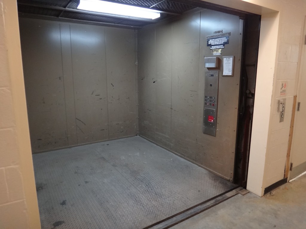 ... Richland Mall Freight Elevator Interior | By DieselDucy