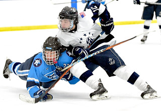 Hockey vs. Kenston - Kent Holiday Tournament