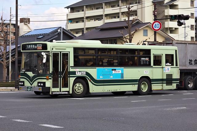 2017/01/05 京都市交通局 6413