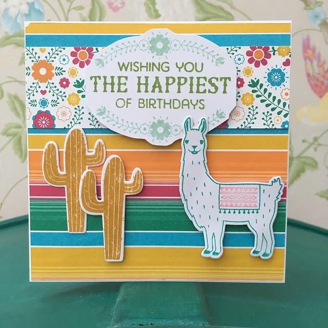 Stampin' Up Birthday Fiesta cards by StickerKitten