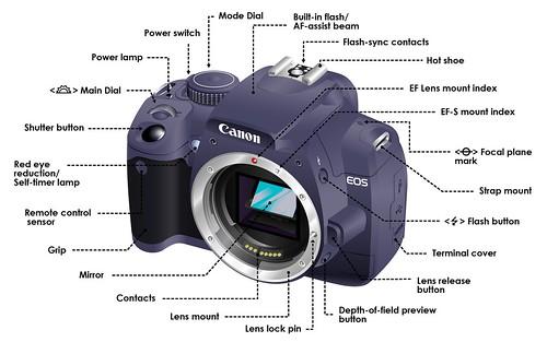 Dslr Camera Functions Diagram