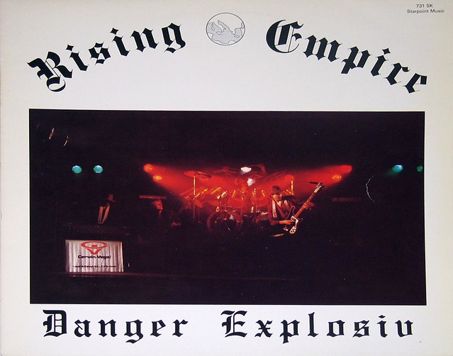"Rising Empire Danger Explosiv SWISS 12"" vinyl LP"