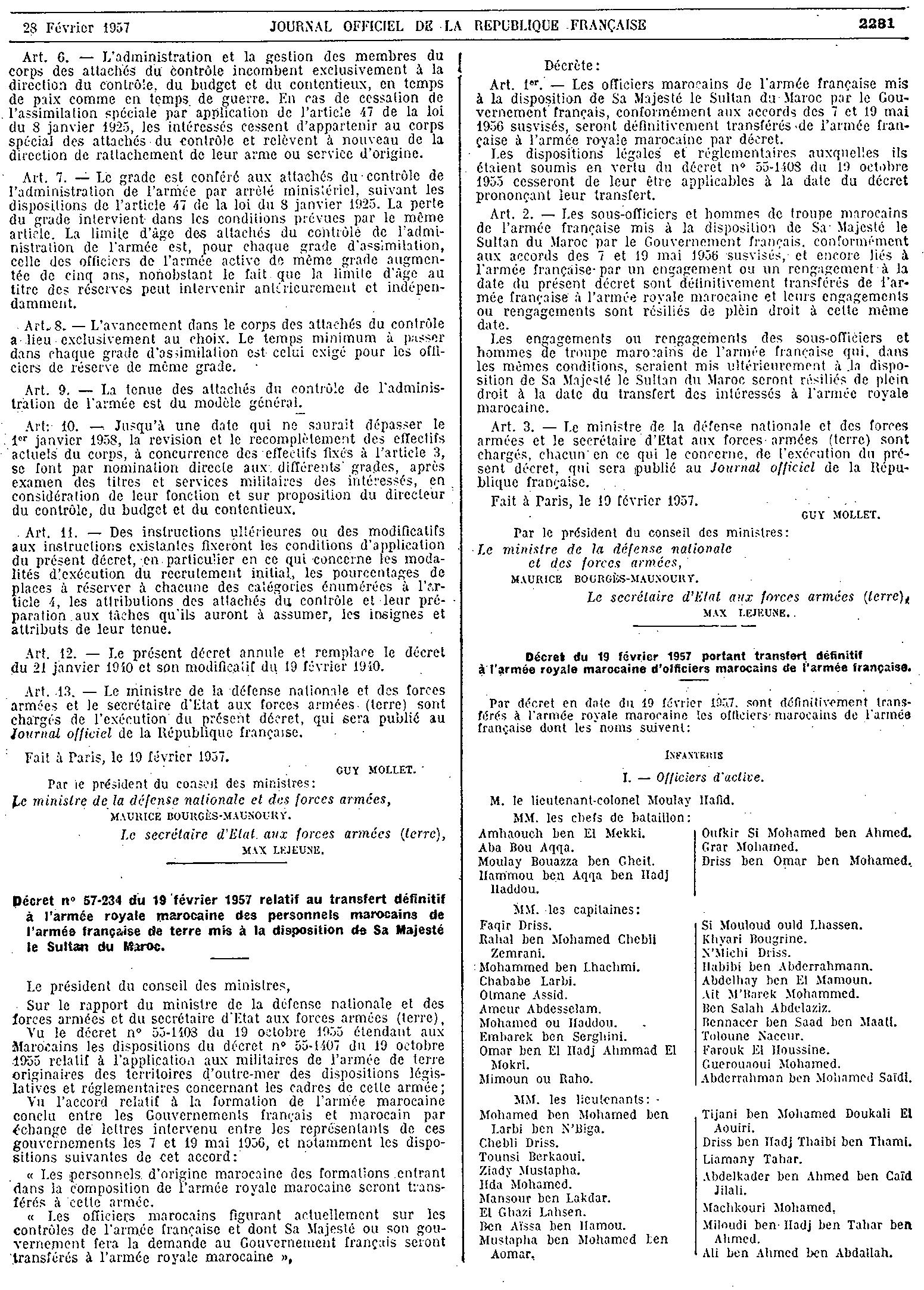 Création des F.A.R. - 14 mai 1956 32747330575_bd21656f6b_o