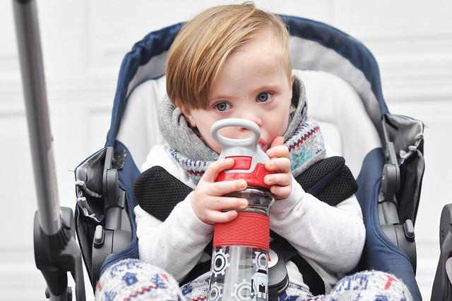 Nuby Thirsty Kids Flip-It Reflex Water Canteen