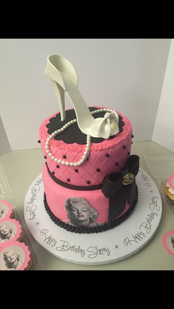 Marilyn Monroe Birthday Cake Lady Wpb Flickr