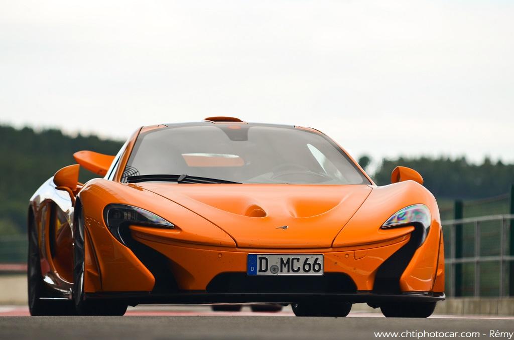 Papaya Orange Mclaren P1 - Modena Motorsport Trackdays 201 ...