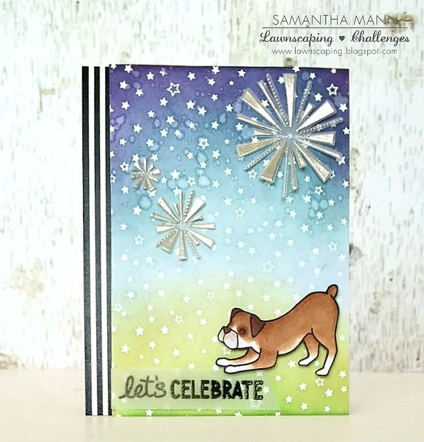 let's celebrate (boxer birthday) card - ls, watermark