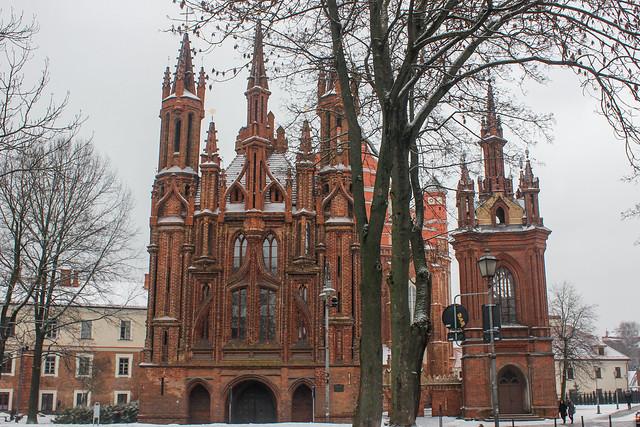 Iglesia de Santa Ana, Vilna, capital de Lituania