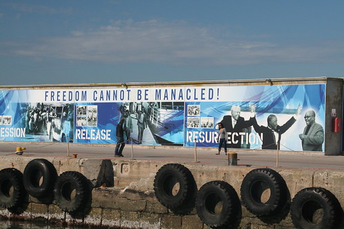 Freedom Cannot be Manacled, Robben Island